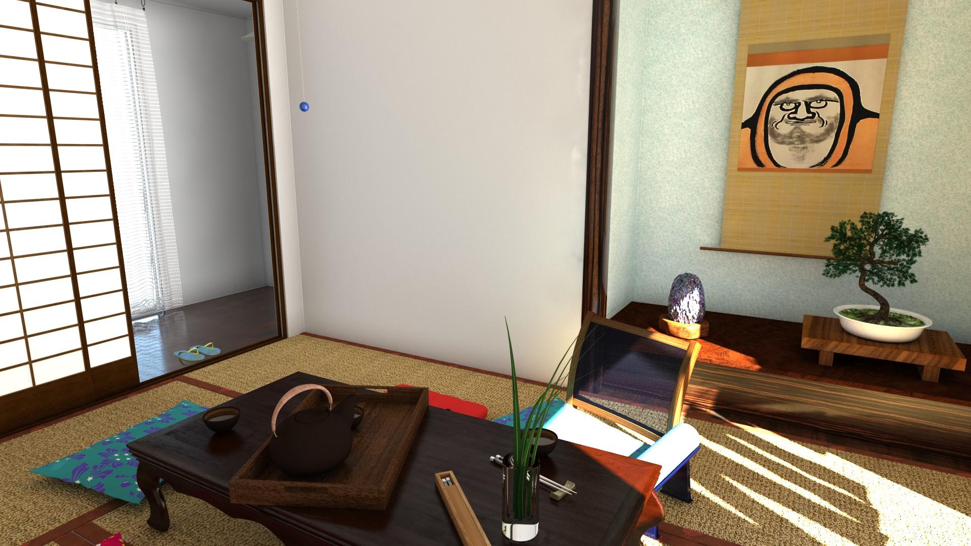 Teezimmer (Tatami Room)