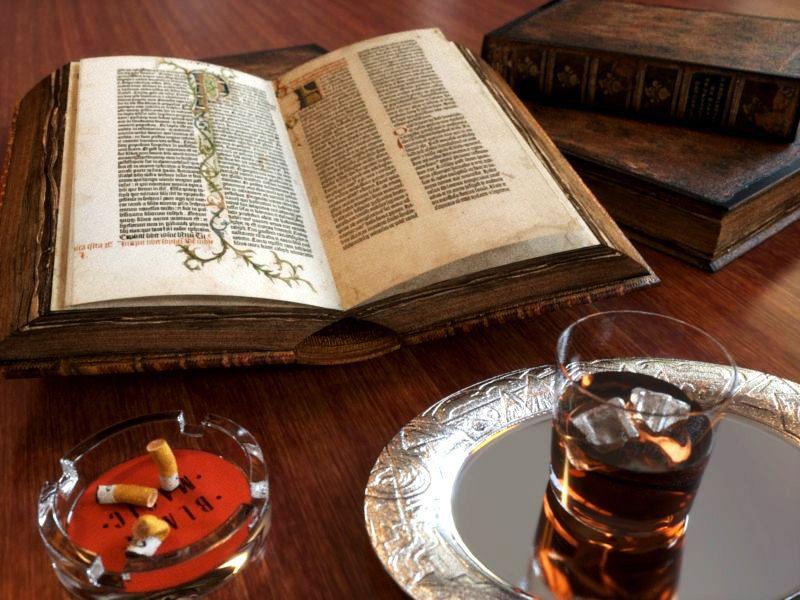 Whisky mit Buch